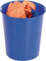 Staples STAPLES Kosz na papier 16l, niebieski