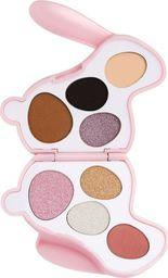 Makeup Revolution I Heart Revolution Bunny Shadow Palette Paletka cieni do powiek (8) Blossom - królik różowy  1szt