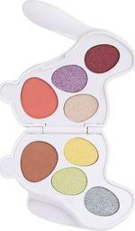 Makeup Revolution I Heart Revolution Bunny Shadow Palette Paletka cieni do powiek (8) Fluffy - królik biały 1szt