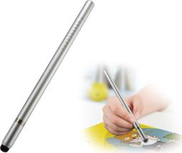 Alogy Rysik precyzyjny do ekranów 2w1 długopis Alogy Elite Tablet Pen srebrny uniwersalny