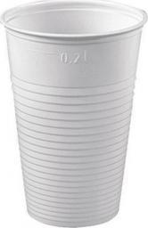 Staples kubek jednorazowy biały 200ml, opakowanie 100 sztuk (PP0002)