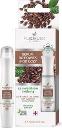 FLOSLEK Floslek Pharma Serum do powiek i pod oczy ze świetlikiem i kofeiną 15ml