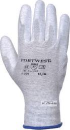 Portwest rękawice antystatyczne pokrywane PU rozmiar L (PP0563)