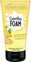 Bielenda Bielenda Smoothie Care Kremowa Pianka do mycia twarzy energetyzująca - Banan i Melon 135g