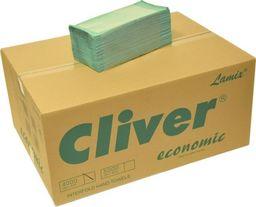 Cliver Ręcznik ZZ Zielony 4000 Economic Cliver