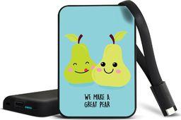 Powerbank Smartools SMARTOOLS | POWER BANK MC5 CARD PEARS 5000 mAh Czas ładowania: 5 h Użycie: 500 razy Prąd wyjściowy: 2.1 A / 5V. Złącze USB Wskaźnik ładowania: 4 LED