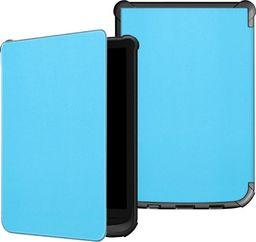 Pokrowiec Etui Smart Cover PocketBook Lux 4 627/616 - Blue uniwersalny