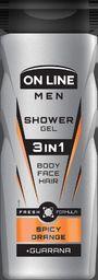 On Line Żel pod prysznic 3in1 Men Spicy Orange 400ml