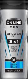 On Line Żel pod prysznic 3in1 Men Deep Blue 400ml