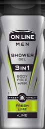 On Line Żel pod prysznic 3in1 Men Fresh Lime 400ml