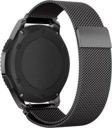 Pasek Milanese Galaxy Watch 46 mm - Black uniwersalny
