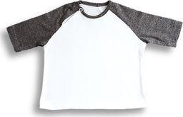 Nanaf Organic Nanaf Organic, BAMBUS, T-shirt, biało-szary