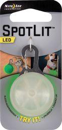 Nite Ize  Nite Ize Brelok, zawieszka SpotLit Eko opk. plastik/zielony LED