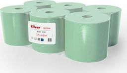 Cliver Ręcznik Midi R130/1 Zielony Standard Cliver