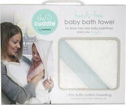 Cuddledry The Cuddle, Bawełniany ręcznik fartuch, biały/miętowy