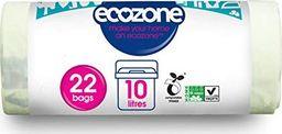 Ecozone Kompostowalne i Biodegradowalne Worki na Odpady Organiczne, 22szt 10L