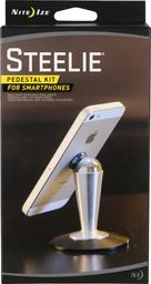 Nite Ize Steelie Pesestal Magnetyczny stojak na smartphone srebrny