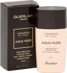 Guerlain Lingerie De Peau Aqua Nude Foundation 06W Tres Fonce Dore 30ml