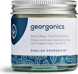 GEORGANICS Georganics, Mineralna pasta do zębów w słoiku English Peppermint, 60ml