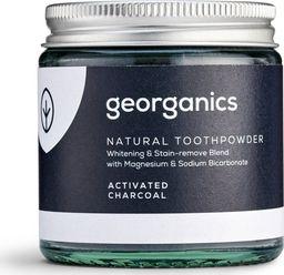 GEORGANICS Georganics, Proszek do czyszczenia zębów, Activated Charcoal, 60 ml