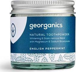 GEORGANICS Georganics, Proszek do czyszczenia zębów, English Peppermint, 60 ml