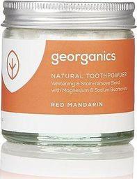 GEORGANICS Georganics, Proszek do czyszczenia zębów, Red Mandarin, 60 ml