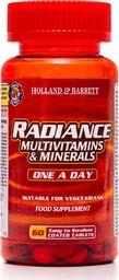 Holland & Barrett Holland & Barrett Radiance Multiwitaminy i Minerały 1 na Dzień 60 Tabletek