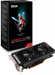 Karta graficzna Club 3D Radeon R9 285 Royal Queen 2GB (256 bit) 2x DVI, HDMI, DP (CGAX-R92856)
