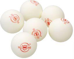 Shield Piłeczki do ping-ponga białe 6 sztuk