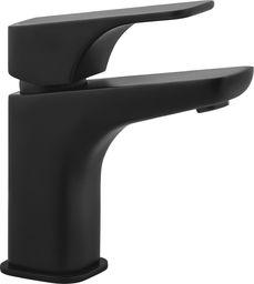 Bateria umywalkowa Deante Nea stojąca czarny (BQH_N21M)