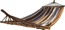Royokamp  Hamak Standard 1 osobowy 200x100cm brązowy