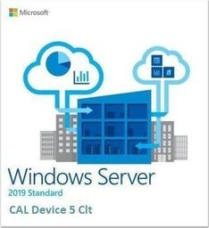 Dell DELL Microsoft 5 pack of Windows Server 2019 DEVICE CALs Standard or Datacenter