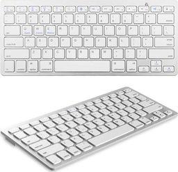 Klawiatura Bluetooth dla iPad iMac - White uniwersalny