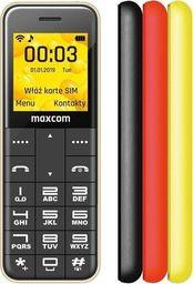 Telefon komórkowy Maxcom  MM111 + trzy obudowy