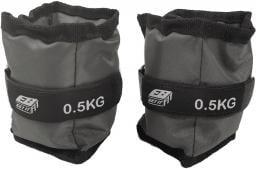 Eb Fit Obciążenie na przeguby szare 2x0.5kg