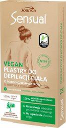 Joanna Joanna Sensual Plastry do depilacji ciała Vegan - Naturalny Wosk Roślinny 1op.-12szt