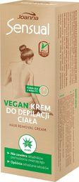 Joanna Joanna Sensual Krem do depilacji ciała Vegan - Aloes 100g
