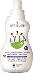 Attitude Płyn do prania i płukania 2 w 1 Górska Świeżość (Mountain Essentials) 35 prań - 1040 ml