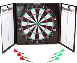Master Darts Dart kartonowy zamykany śr.42cm i 6 rzutek
