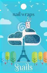 Snails Naklejki na paznokcie Nail Wrap Turquoise