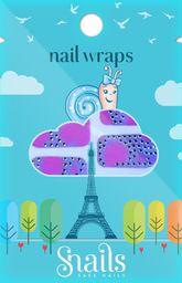 Snails Naklejki na paznokcie, Nail Wrap – Pink Zebra, różowa zebra