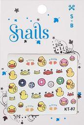Snails Naklejki na paznokcie Quack Quack
