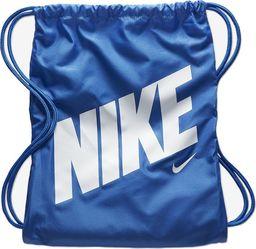 Nike NIKE Worek sportowy Dziecięcy PLECAK Niebieski uniwersalny