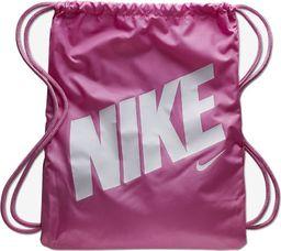 Nike NIKE Worek sportowy Dziecięcy PLECAK Różowy uniwersalny