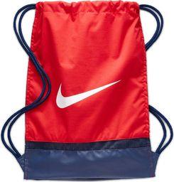Nike NIKE Worek sportowy Brasilia Gymsack Na buty i odzież czerwony uniwersalny