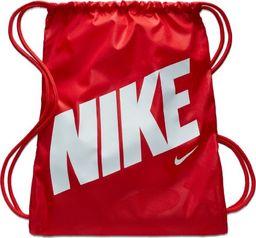 Nike NIKE Worek sportowy Dziecięcy PLECAK Czerwony uniwersalny