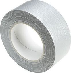 Adam Hall Taśma klejąca Gaffer Premium, Gaffa, srebrna, taśma sceniczna 50mm x 50m
