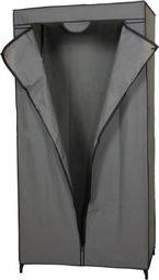 Saska Garden Szafa tekstylna garderoba ciemy szary 80x50x160cm