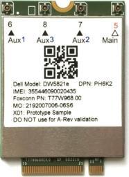 Modem Dell  Qualcomm Snapdragon X20 LTE (556-BCES)