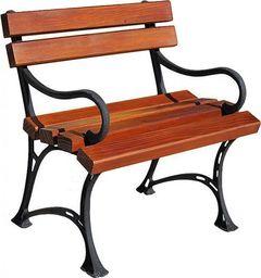 Elior Drewniane krzesło ogrodowe Helen - 7 kolorów Biały